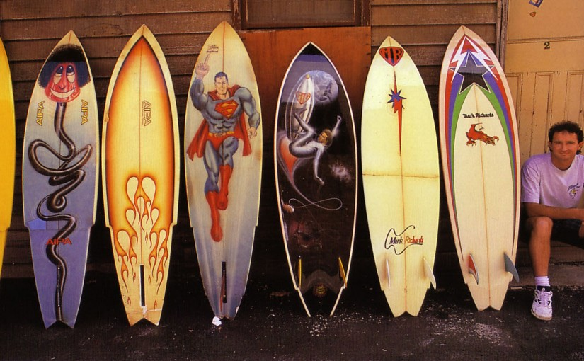 Buying vintage surfboards
